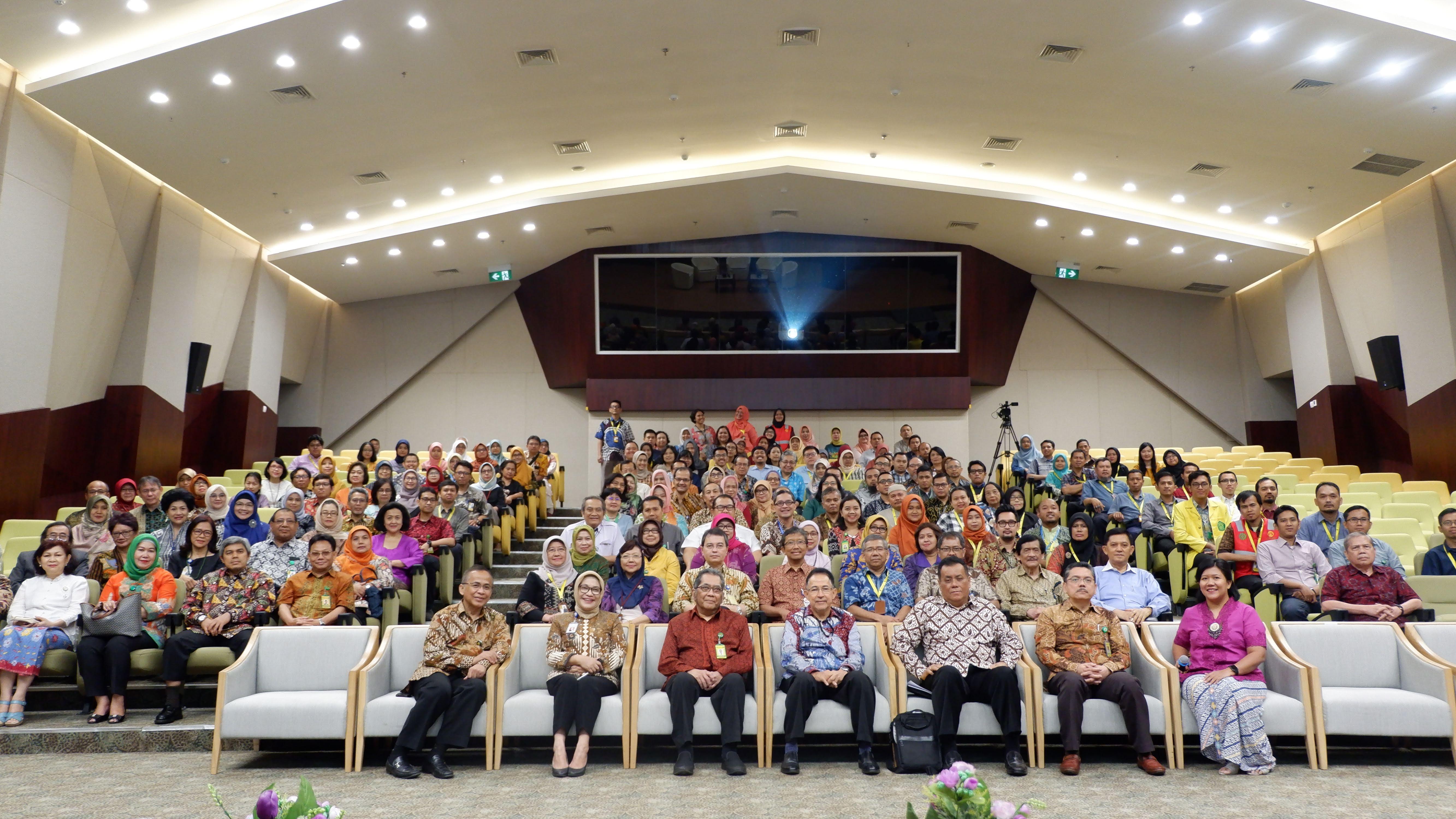 Rapat Terbuka Senat Akademik Fakultas Kedokteran Indonesia & Lepas Sambut Rektor Universitas Indonesia di Fakultas Kedokteran