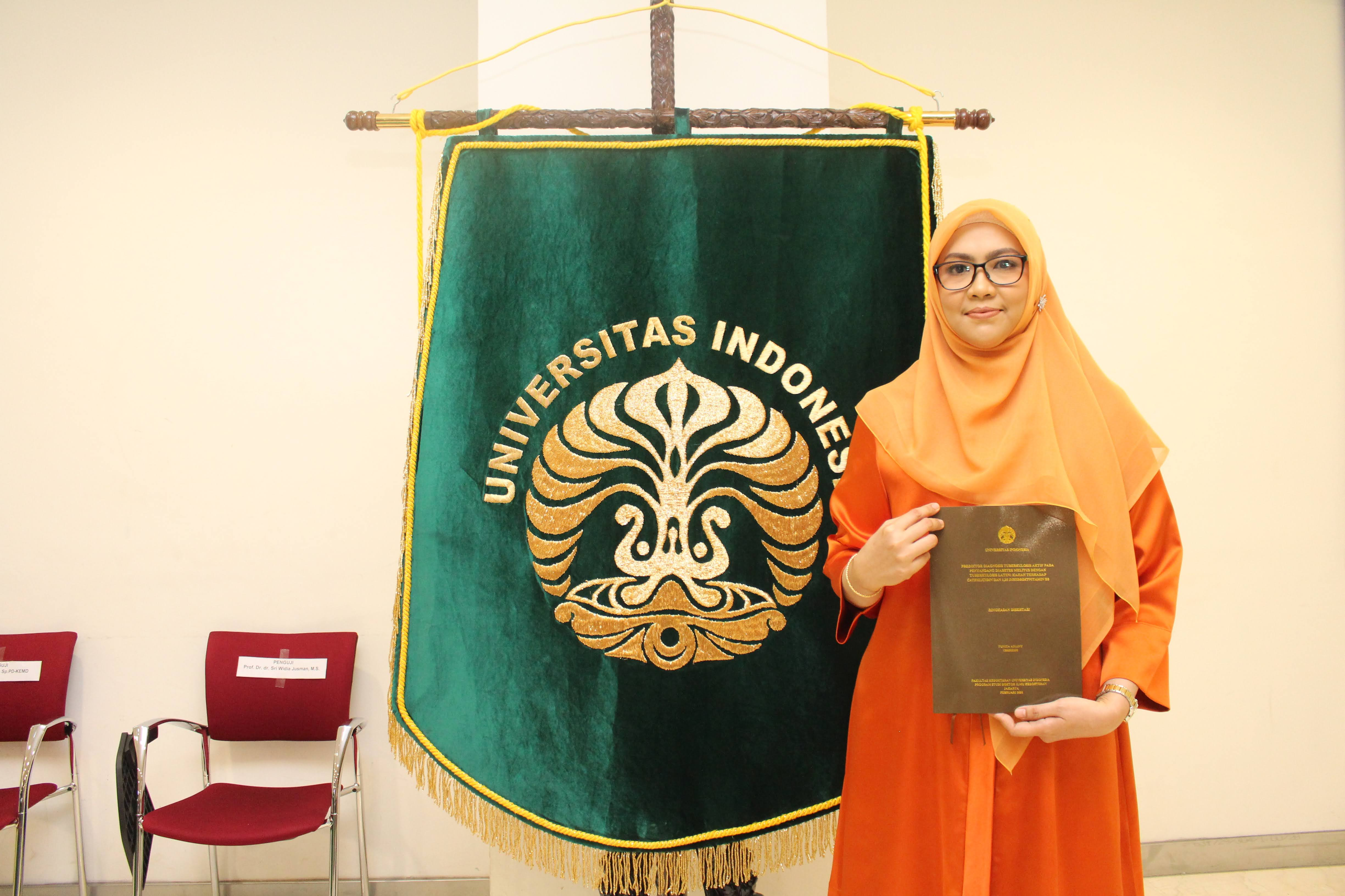 Promosi Doktor Yunita Arliny