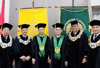 UI Kembali Kukuhkan Dua Guru Besar Fakultas Kedokteran
