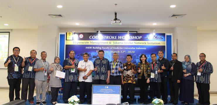 Jakarta neurology exhibitoin, workshop and symposium (JakNews) 7.0   (sambutan dan penandatanganan komitmen jakarta stroke network initiation