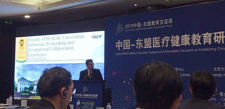 Dekan Bagikan Pengalaman FKUI Hadapi Pandemi Covid-19 di Forum Internasional
