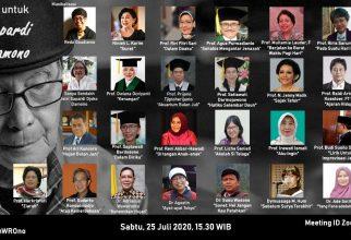 5 Guru Besar FKUI Bacakan Puisi Karya Prof. Sapardi Djoko Damono