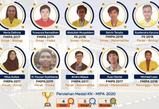 Mahasiswa FKUI Raih Medali pada Ajang KN-MIPA 2020