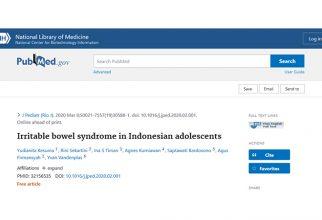 Bullying sebagai Salah Satu Faktor Risiko Utama Irritable Bowel Syndrome pada Remaja Indonesia