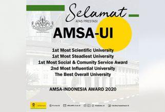 Borong Penghargaan, AMSA-UI Terbaik se-Indonesia