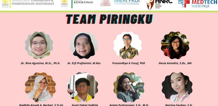 Peduli Gizi Anak Indonesia, Tim Pengmas FKUI Kembangkan Permainan Interaktif Berbasis Website dan Augmented Reality
