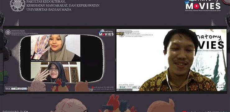 Video Karya Mahasiswi FKUI Juarai Kompetisi Nasional Anatomy the MOVIES