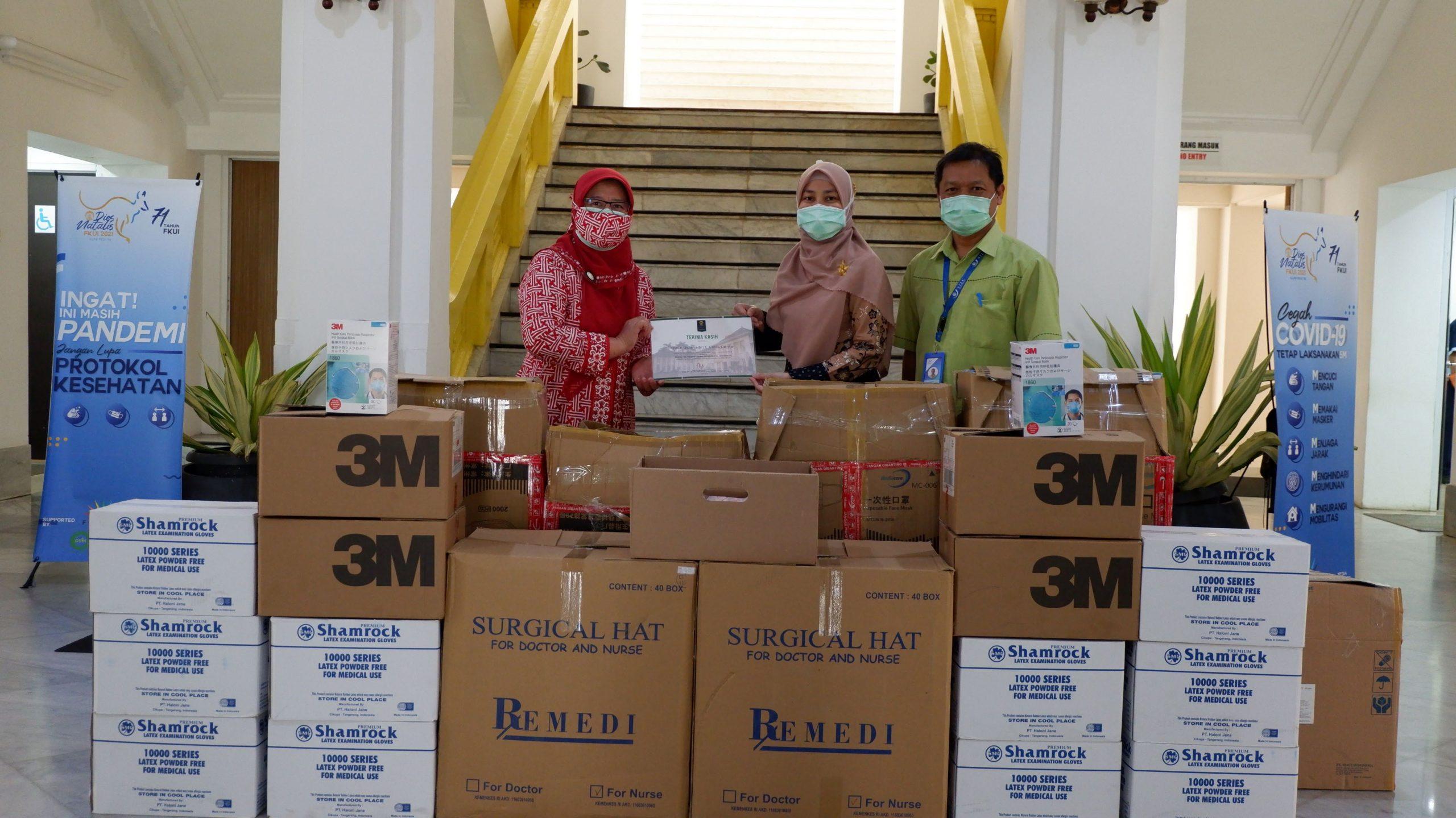 Donasi APD dari SILC Lasik Center