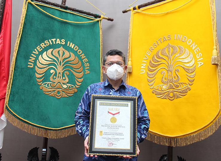 Penghargaan Rekor Muri Fakultas kedokteran Universitas Indonesia
