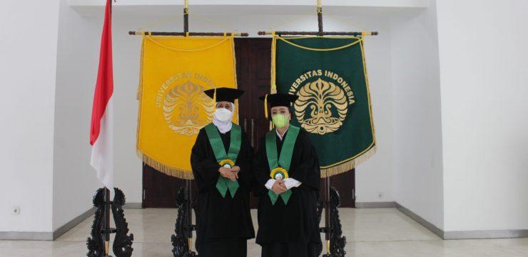 Pengukuhan Guru Besar Prof. Dr. dr. laila Nuranna, Sp.OG (K) OnK Prof. Dr. dr. Rismala Dewi, Sp.A(K)