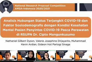 Proposal Riset Mahasiswa FKUI Menjadi yang Terbaik dalam Ajang National Research Proposal Competition 2020/2021