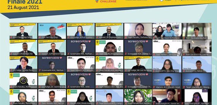 Aplikasi `ParuKu` Karya Inovasi Mahasiswa UI Raih People`s Choice Award di NUS Medical Grand Challenge 2021
