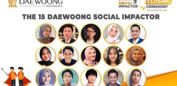 Dua Mahasiswa FKUI Terpilih Menjadi Duta Daewoong Social Impactor 2021